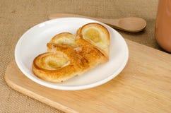 Pineapple danish pastry Stock Photo