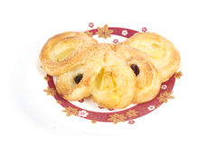Pineapple Danish Pastry Royalty Free Stock Image