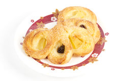 Pineapple Danish Pastry Royalty Free Stock Photography