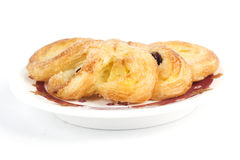 Pineapple Danish Pastry Royalty Free Stock Images