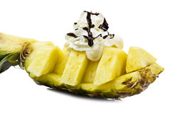 Pineapple dessert Stock Photography
