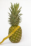 Pineapple diet Royalty Free Stock Image