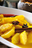 Pineapple  dish. Pineapple in Turmeric and Chili,Pineapple dishes,thai food, thai cuisine Stock Images