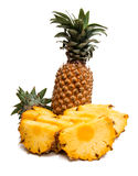 Pineapple Exotic fruit  Royalty Free Stock Photography