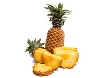 Pineapple Exotic fruit  Stock Photos