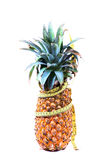Pineapple and fitness Royalty Free Stock Photography