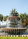 Pineapple fountain stock images