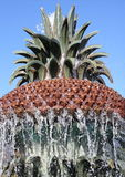 The Pineapple Fountain in Charleston Stock Photo