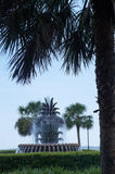Pineapple Fountain Charleston South Carolina's Waterfront Park Stock Images