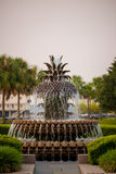 Pineapple Fountain Royalty Free Stock Photos