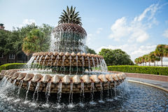 Pineapple Fountain Royalty Free Stock Image