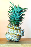 Pineapple after freeze Royalty Free Stock Photo