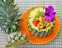 Pineapple fried rice Royalty Free Stock Photo