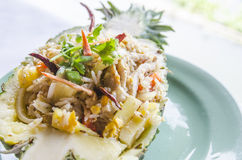 Pineapple Fried Rice Stock Image