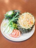 Pineapple fried rice Royalty Free Stock Photos
