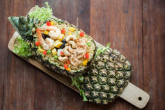 Pineapple Fried Rice Royalty Free Stock Image
