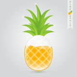 Pineapple fruit juice Royalty Free Stock Photography