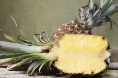pineapple fruit and pulp Stock Photography