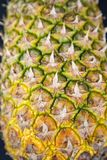 Pineapple fruit texture Royalty Free Stock Images
