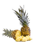 Pineapple fruits Stock Image