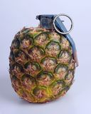 Pineapple grenade Royalty Free Stock Image