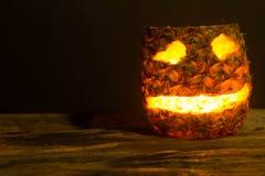 Pineapple Halloween Royalty Free Stock Image