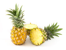 Pineapple. On hte white background Royalty Free Stock Images