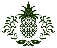 Pineapple icon Stock Images