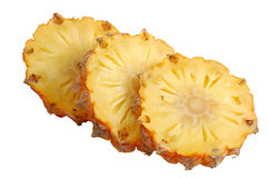 Pineapple isolated clipping-path included Stock Image
