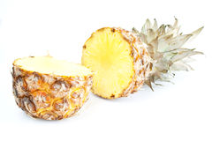 Pineapple isolated on white background royalty free stock photography