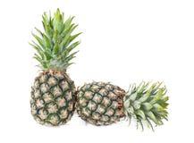 Pineapple isolated on white background, fresh fruit Stock Photo