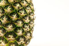 Pineapple isolated on white background. Summer fruit Stock Photography