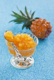 Pineapple jam Stock Images