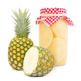 Pineapple jar Stock Photography