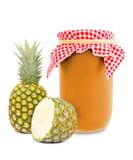 Pineapple jar Stock Images