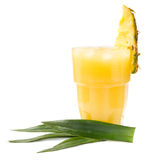 Pineapple juice Stock Images