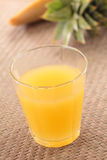 Pineapple juice Stock Photos