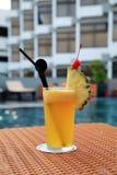 Pineapple juice Stock Image