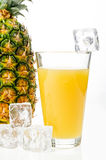 Pineapple juice Stock Photo