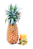 Pineapple juice diet Stock Image