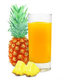 Pineapple juice royalty free stock image