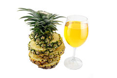 Pineapple Juice in glass. Stock Photography
