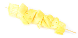 Pineapple kebab Stock Photography
