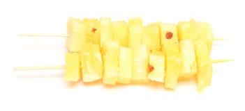 Pineapple kebab Stock Photography