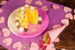 Pineapple kid pastry Stock Photos