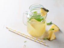 Pineapple lemonade Stock Photography
