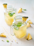 Pineapple lemonade Stock Photo