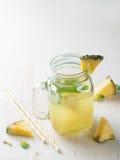 Pineapple lemonade Royalty Free Stock Image