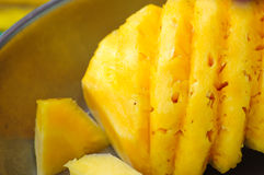 Pineapple on the market. Image of pineapple on the market Royalty Free Stock Image