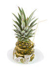 Pineapple and measuring ribbon Stock Images